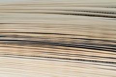 Hintergrund von den alten und benutzten Büchern des gebundenen Buches Kopieren Sie Raum für Text Lizenzfreies Stockbild