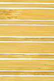 Hintergrund von den Bambusplatten Stockbild