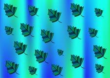 Hintergrund von den Blättern lizenzfreie abbildung