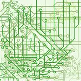 Hintergrund von den elektronischen Entwürfen Lizenzfreie Abbildung