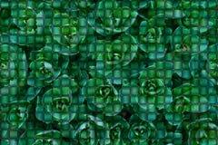 Hintergrund von den grünen Blättern in Form von Puzzlespielen Hintergrund von den Puzzlespielen Grüne Konzepte lizenzfreie abbildung