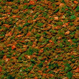 Hintergrund von den kleinen Steinen Stockfoto