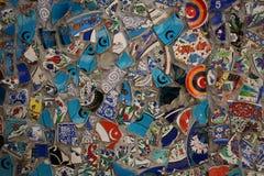 Hintergrund von den Osttonwarenscherben stockbilder