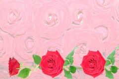 Hintergrund von den roten Rosen. lizenzfreie stockfotografie