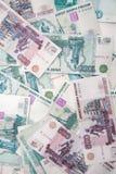 Hintergrund von den Rubeln Lizenzfreie Stockbilder