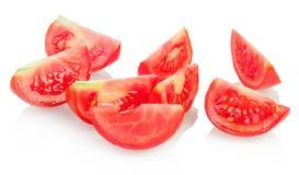 Hintergrund von den Tomaten Lizenzfreies Stockbild