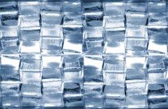 Hintergrund von den Würfeln des Eises Lizenzfreies Stockbild