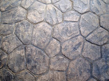 Hintergrund von der alten steinigen Wand Stockbild