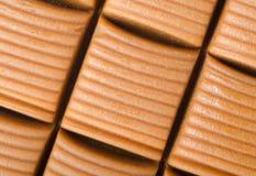 Hintergrund von der Milchschokolade Stockfotos