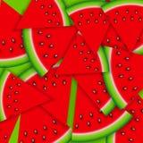 Hintergrund von der Wassermelone Auch im corel abgehobenen Betrag Lizenzfreie Stockbilder