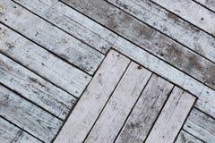 Hintergrund von diagonalen alten Brettern lizenzfreie stockbilder