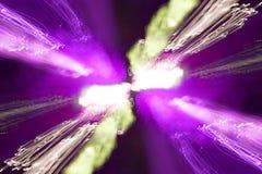 Hintergrund von Discobewegungs-Nachtlichtern lizenzfreie stockfotos