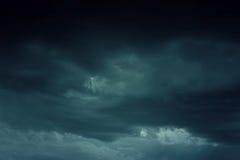 Hintergrund von dunklen Wolken Lizenzfreie Stockfotografie