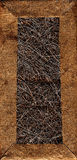 Hintergrund von einem Papier- und Faserstoff Stockfoto