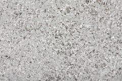Hintergrund von einer Aluminiumfolie. Stockbild