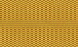 Hintergrund von Elementen von kleinen quadratischen braunen Mosaikfliesen Stockfoto
