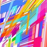 Hintergrund von farbigen geometrischen Formen vektor abbildung