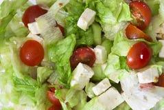Hintergrund von fetta Salat Lizenzfreies Stockfoto