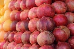 Hintergrund von Früchten Stockfoto