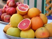 Hintergrund von Früchten Stockbild