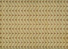 Hintergrund von geflochtenem Stroh. Lizenzfreie Stockbilder
