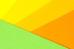 Hintergrund von geometrischen Formen des farbigen Papiers Lizenzfreie Stockbilder