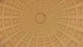 Hintergrund von geometrischen Zahlen mit einem Kreis in der Mitte lizenzfreie stockfotografie