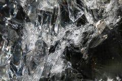 Hintergrund von geschlagenem Glas stockfotografie