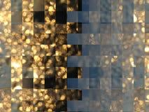 Hintergrund von Goldstreifen Stockfoto