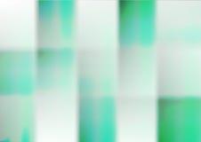 Hintergrund von grünen Quadraten Auch im corel abgehobenen Betrag stock abbildung