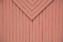 Hintergrund von hölzernem gemalt in den braunen oder roten Farbstreifen Detai Lizenzfreie Stockfotos