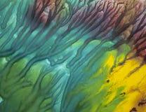 Hintergrund von hellen Farben lizenzfreie stockfotos