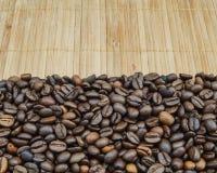 Hintergrund von Kaffeebohnen Stockfotografie