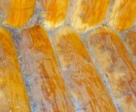 Hintergrund von Klotz und von Planken stockbild