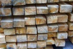 Hintergrund von Klotz und von Planken lizenzfreies stockbild