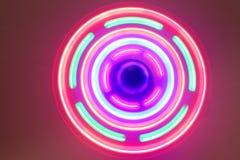 Hintergrund von Lichtern Lizenzfreies Stockbild