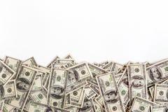 Hintergrund von $ 100 mit Raum für Text Stockfotografie