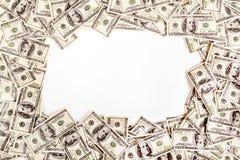 Hintergrund von $ 100 mit Raum für Text Lizenzfreie Stockfotografie