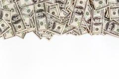 Hintergrund von $ 100 mit Raum für Text Stockfotos