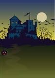 Hintergrund von nidht von Halloween Stockbild