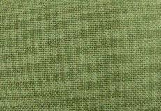 Hintergrund von Olive Green Textile Pattern Texture Lizenzfreie Stockfotos