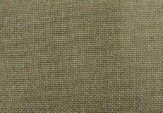 Hintergrund von Olive Green Textile Pattern Texture Lizenzfreie Stockfotografie