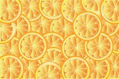Hintergrund von Orangen Lizenzfreie Stockbilder