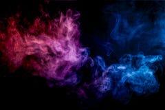 Hintergrund von Rauch vape Stockbilder