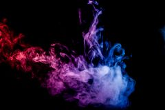 Hintergrund von Rauch vape Lizenzfreie Stockfotos