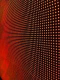 Hintergrund von roten Kreisen auf schwarzem Hintergrund Stockbilder