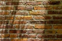 Hintergrund von rustikalen Ziegelsteinen Lizenzfreie Stockfotos