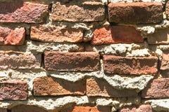 Hintergrund von rustikalen Ziegelsteinen Lizenzfreies Stockbild