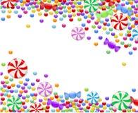 Hintergrund von Süßigkeiten Lizenzfreie Stockfotografie