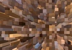 Hintergrund von verdrängten Quadraten Stockfotos